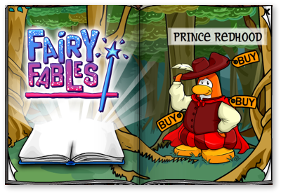Club Penguin Fairy Fables Page Two