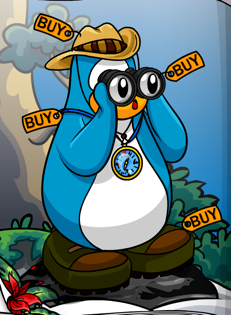 Club Penguin Adventure Party Clothes
