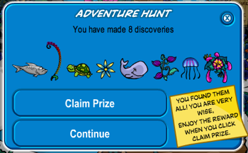 Club Penguin Adventure Party Hunt