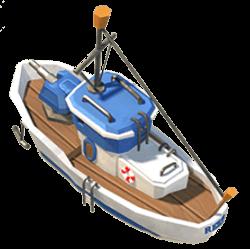 Boom Beach Gunboat