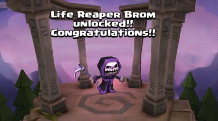 Life Reaper Brom Unlocked