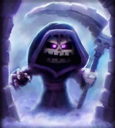 Life Reaper Brom - Portrait