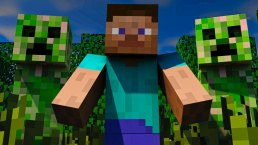 minecraft-steve-creepers